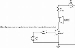 Piezo Buzzer Wiring Diagram
