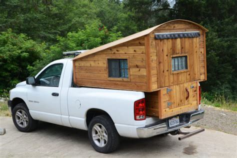 Wooden Truck Campers For Tacoma And Ram Models
