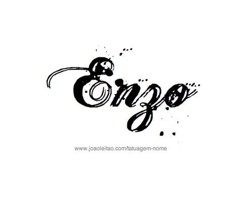 desenhos de tatuagem   nome enzo tatto desenhos