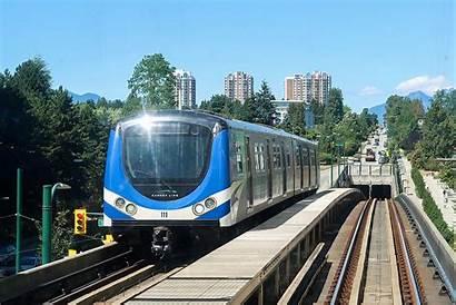 Canada Line Vancouver Train Skytrain Transit Airport