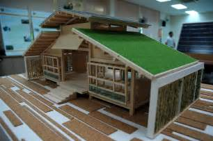 green home designs bamboo house design miniature green house design