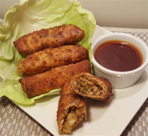 egg fryer rolls air york roll recipes pork recipe thisoldgal shrimp frozen fry cooking oven chicken wrappers times sweet chinese