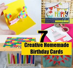 7 Simple And Creative Homemade Birthday Cards | DIY Home ...
