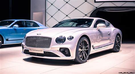 Bentley 2019 : The 2019 Bentley Continental Gt Images
