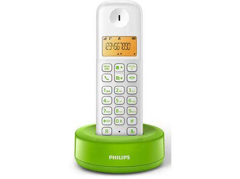 t 233 l 233 phone fixe sans fil philips d1301wn fr vert image casa d 233 coration