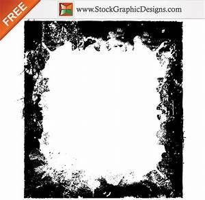Free Grunge Border Frames Vector | Download Free Vector ...