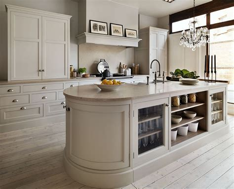 Cream Kitchen  Love The Curved Island  Remodel
