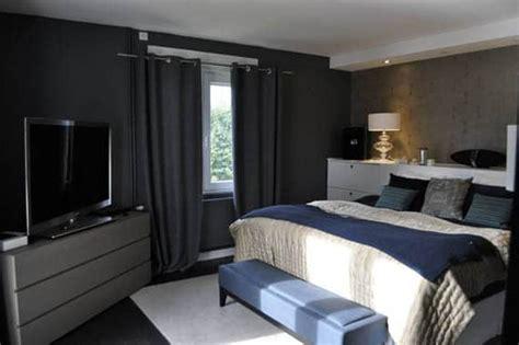 chambre gris foncé aurélie hemar dévoile sa déco d 39 intérieur en gris et