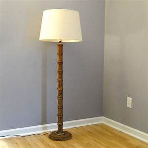 25 facts about vintage floor lamps you should to know With used wood floor lamp