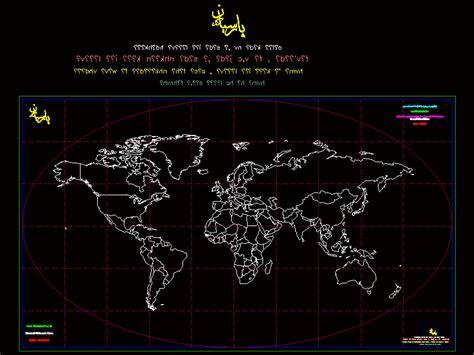 world map dwg block  autocad designs cad