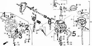 Honda 300 Fourtrax Parts Diagram