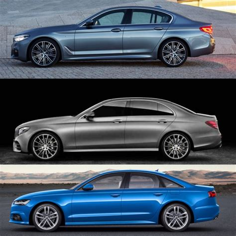 Read on to find out which of these legendary german automakers has the. BMW 5 Series vs Mercedes-Benz E-Class vs Audi A6 -- Photo Comparison