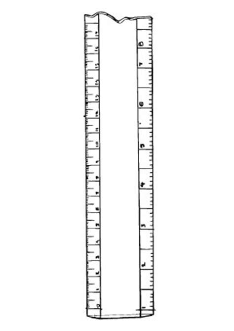 ausmalbilder lineal masseinheiten bildung malvorlagen