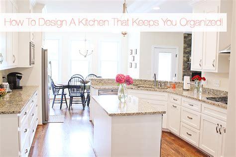 Kitchen Design Tips by An Organized Kitchen Smart Kitchen Storage Tips