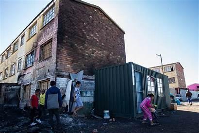 Parkwood Fire Booysen Children Flats Council Families