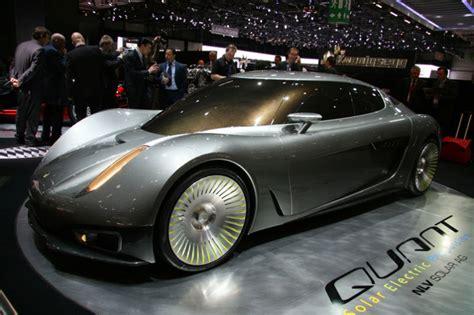 Koenigsegg Quant Concept A Fourseat Solar Electric Super Car
