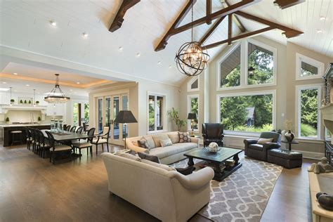 25 Open Plan Living & Dining Room Designs  Great Rooms
