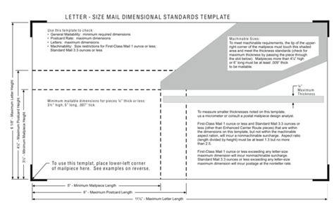 usps letter size levelings