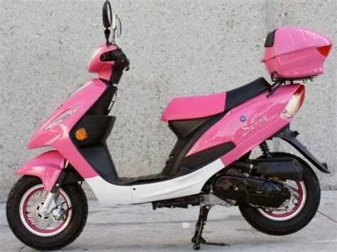 2014 Sunny 50cc Pink Panther Maui Moped On Sale By