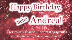 Happy, Birthday, Liebe, Andrea, Alles, Gute, Zum, Geburtstag