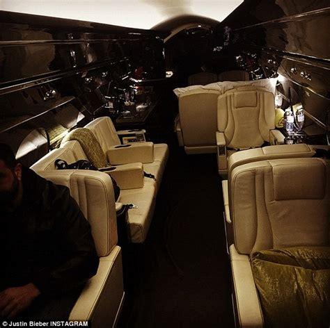 The $60million Jet Showed Off By Justin Bieber On