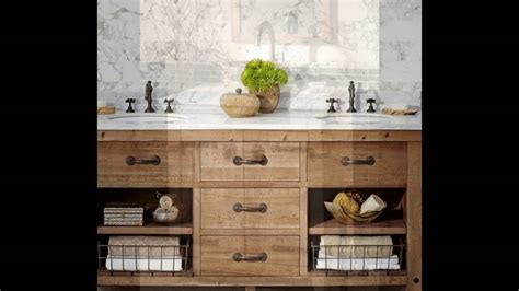 farmhouse bathroom vanity youtube