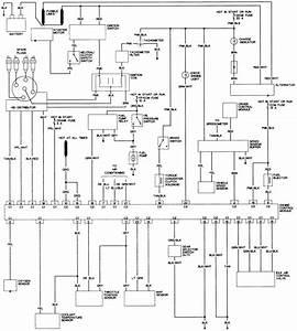 22 - 1 8l  Vin O  Engine Control Wiring Diagram