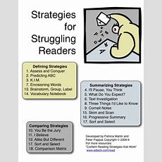 Strategies For Struggling Readers  50 Page Downloadable File By A Veteran Teacher, Peter Pappas