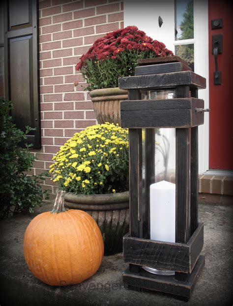 diy outdoor porch lanterns scavenger chic