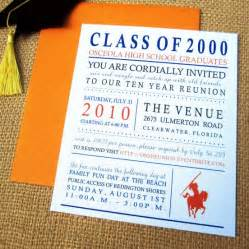 Class Reunion Invitation