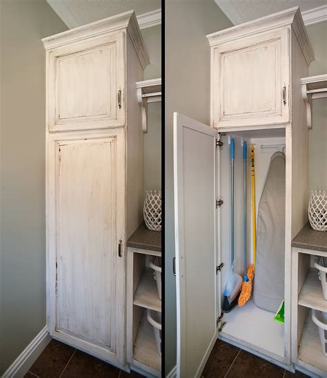 home depot patio broom closet cabinet smart and practical solution to