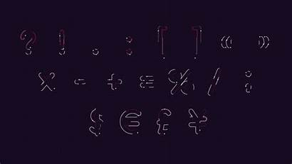 Snake Font Alphabet Animated Template Zip Squeeze