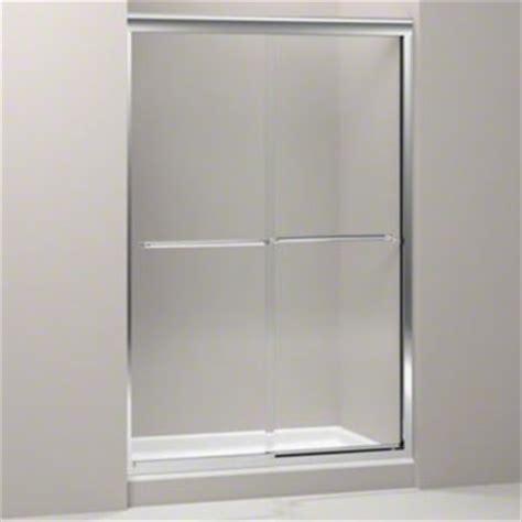 Kohler Glass Shower Door - kohler k 702215 l shp fluence frameless sliding shower