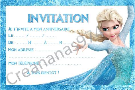 Carton D'invitation Anniversaire