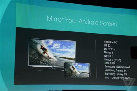 mirror android to tv android will soon let you mirror your smartphone to your tv