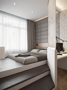 Platform bed ideas that will steal the show for Design for small bedroom modern