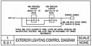 electrical lighting systems general services building With exterior lighting control diagram