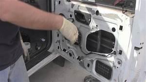 Ford Ranger Remove  Replace Power Window Regulator