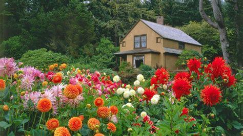 Free Garden Image by Hd Flower Garden Wallpaper Wallpapersafari