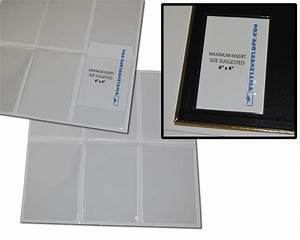 all purpose adhesive pockets With 4x6 clear labels