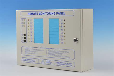 series  remote monitoring panel alarmtronic