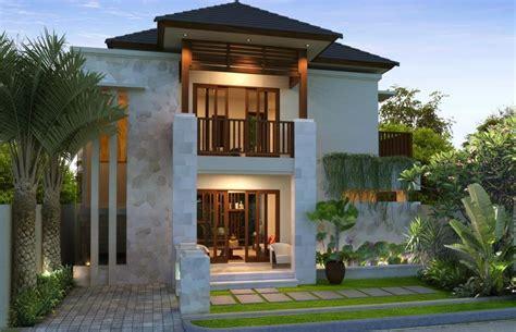 rumah tingkat minimalis murah batu alam atap arsitektur
