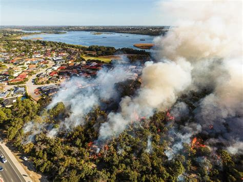stunning images  prescribed burn   wanneroo