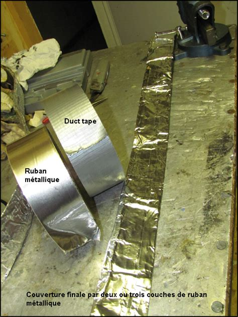 fabrication dune bande chauffante pour proteger