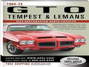 Pontiac Restoration Parts Catalog