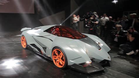 New Lamborghini Egoista Unveiled To The Lamborghini 50th