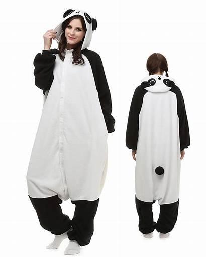 Panda Onesie Pajamas Kigurumi Animal Costumes Adult