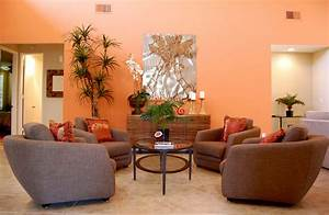 Orange living room ideas dgmagnetscom for Orange decorating for living room