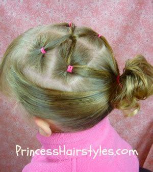 gymnastics hairstyles twist link ponytail hairstyles