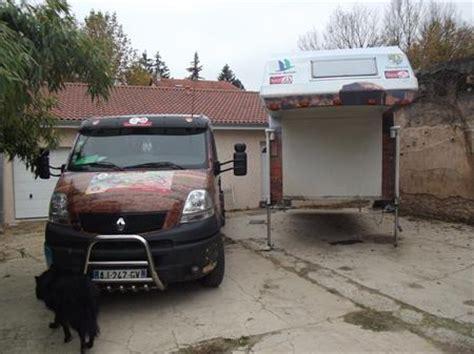 camion decore a vendre camion cing car amovible unique decore renault polycomposit 224 55900 38290 la